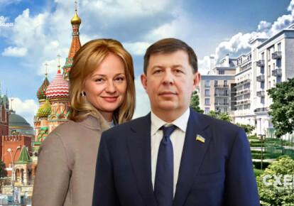 Цивільна дружина депутата від ОПЗЖ Тараса Козака Наталя Лавренюк