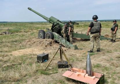 Випробування українських 152-мм артилерійських снарядів