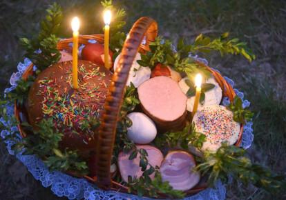 Традиционная пасхальная корзина