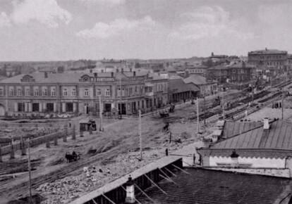 Миколаївський проспект у Новомиколаївську. Не пізніше початку 1910-тих рр.