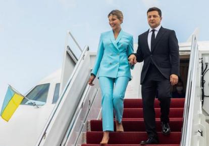 Елена и Владимир Зеленский в США/Instagram zelenskiy_official