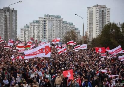Акція протесту в Мінську