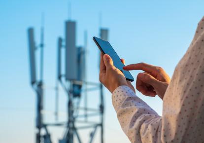 Мобильная связь стандарта 5G обеспечивает передачу огромных объемов данных