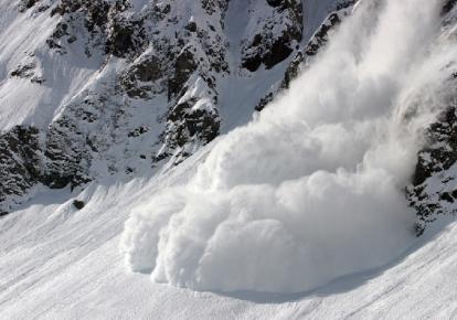 Сходження лавини (ілюстративне фото)