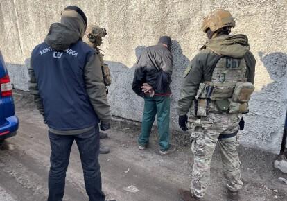 Задержание боевика