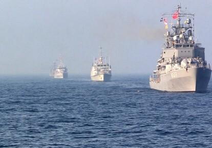 Морські тренування українських ВМС з кораблями НАТО