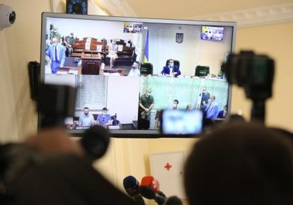 Судебное заседание по избранию меры пресечения бывшему судье Николаю Чаусу