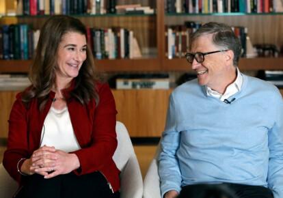 Білл Гейтс з дружиною Меліндою