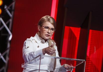 """Юлия Тимошенко в эфире """"Право на владу"""" / ba.org.ua"""