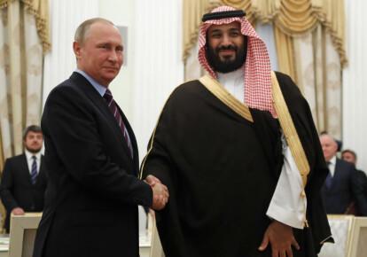 Отныне враги: Владимир Путин и наследный принц Мухаммед бин Салман. Фото: Getty Images