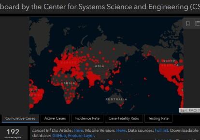 Коронавірус у світі станом на 4 березня