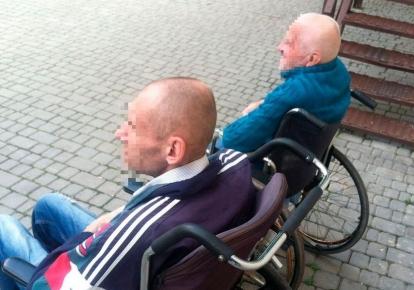 Все трое мужчин — с инвалидностью