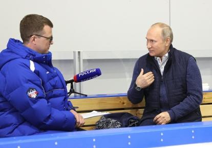 Володимир Путін дає інтерв'ю Павлу Зарубіну/kremlin.ru