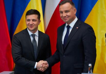 Владимир Зеленский и Дуда