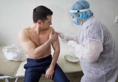 Вакцинация Владимира Зеленского