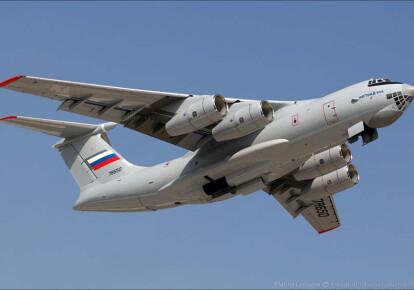 Россия отправила в оккупированный Крым самолеты Ил-76МД