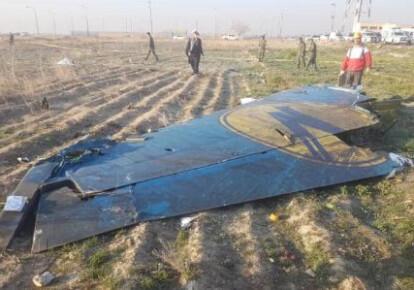Обломки самолета МАУ
