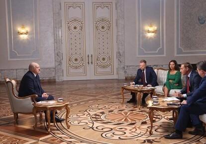 Александр Лукашенко и российские пропагандисты
