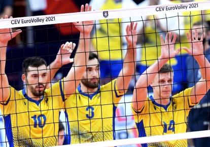 Гравці збірної України з волейболу