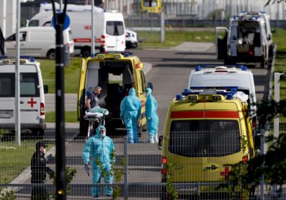 Часть российских регионов столкнулись со вспышкой коронавирусной инфекции