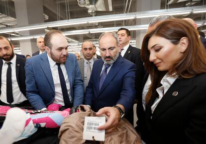 Текстильный завод в Армении. Фото: gov.am