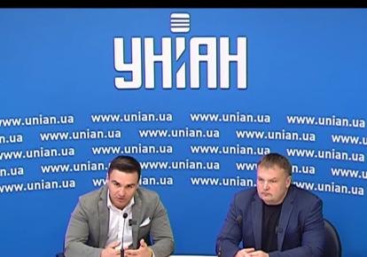 Олександр Шульга і виконавчий директор Українського інституту майбутнього Вадим Денисенко