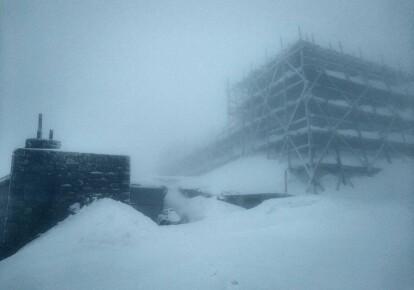 Снег на горе Поп Иван
