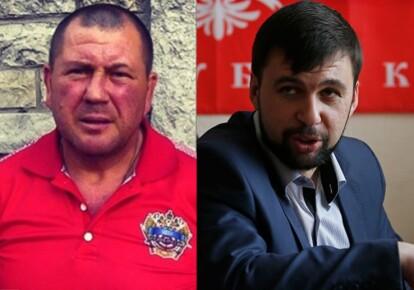 "Александр Костин ""Август"", Денис Пушилин. Фото: dialog.ua"
