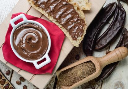 Шоколадный крем из кэроба
