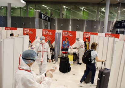 Санітарний контроль у французьких аеропортах