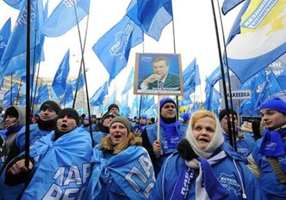 """Зимой """"регионалам"""" их электорат в Донбассе нравился"""