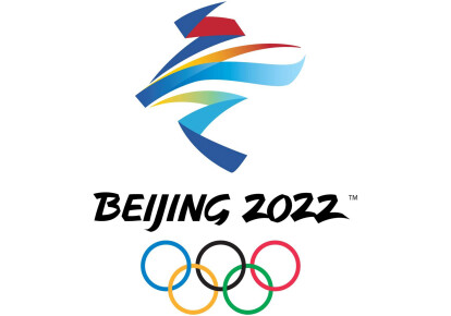 Логотип Зимней Олимпиады в Пекине-2022