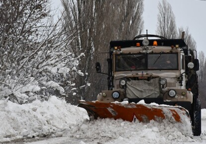 Снегопад непогода/ГСЧС
