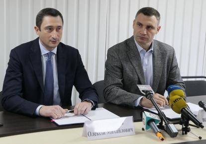 Алексей Чернышов и Виталий Кличко / kiev.informator.ua