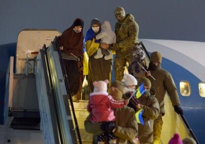 Возвращение граждан Украины из Сирии