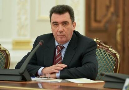 Секретар Ради національної безпеки і оборони Олексій Данілов