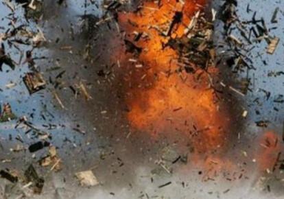 На оккупированной российскими наемниками часть Донецкой области взорвался склад боеприпасов