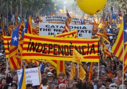 Демонстрації за незалежність Каталонії