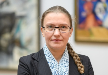 Генеральна директорка Національного художнього музею України Юлія Литвинець
