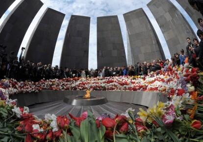 Мемориал погибшим армянам в Ереване. Армения обвиняет Турцию в геноциде почти 1,5 млн армян во время Первой мировой войны