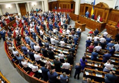 Верховная Рада приняля за основу в первом чтении законопроект №3087-д