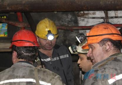 В ОРЛО прокатилась волна шахтерских забастовок