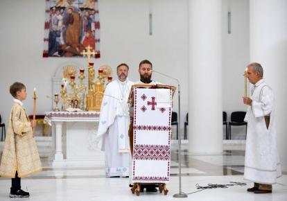 Служба в храме УГКЦ