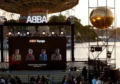 Презентация нового альбома Voyage  группы ABBA