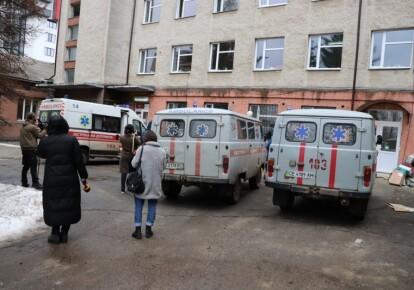 Черновицкая больница №1, где 27 февраля произошел пожар