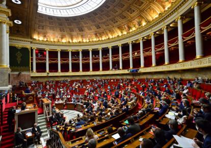 Заседание французского парламентка