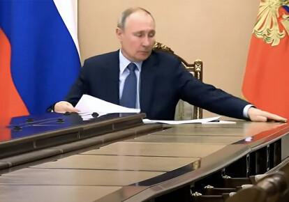 Владимир Путин. Кадр из видео
