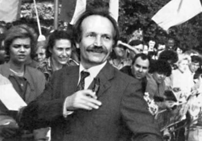 Кандидат в Президенты Украины на выборах 1991 года Вячеслав Чорновил