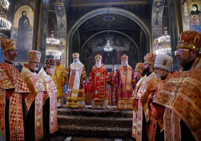 На приглашение Филарета приехали только четыре епископа. Фото: cerkva.info