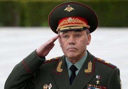 Начальник Генштабу ЗС РФ — перший заступник Міністра оборони РФ Валерій Герасимов